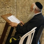 Reading Torah at the Western Wall