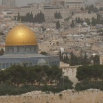 View of the Temple Mount from the Mt. of Olives