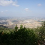 Overlooking the Jezreel Valley