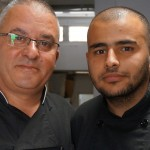 Chef Yusef and his Assistant Manuel