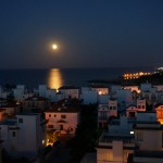 Full moon on Cyprus