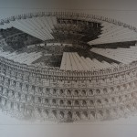 The Colosseum as it would have looked with canvas sun cover