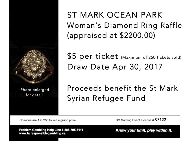 Raffle Poster Diamond Ring